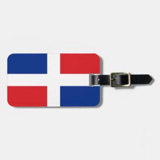 Dominican Republic Flag Luggage Tag