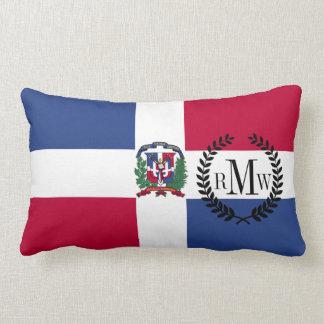 Dominican Republic Flag Lumbar Pillow