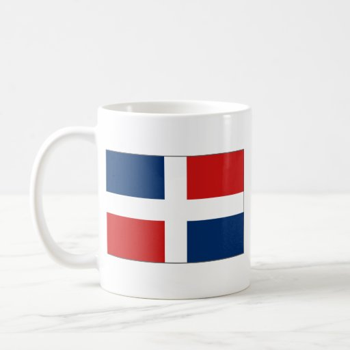 Dominican Republic Flag ~ Map Mug