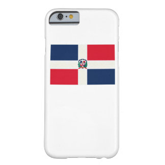 Dominican Republic Flag Oil Painting Barely There iPhone 6 Case