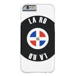 Dominican Republic Flag Simple Barely There iPhone 6 Case