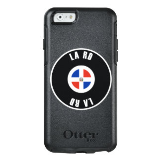 Dominican Republic Flag Simple OtterBox iPhone 6/6s Case