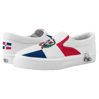 Dominican Republic Flag Slip-On Sneakers