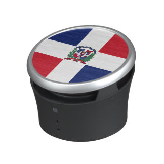 Dominican Republic Flag Speaker