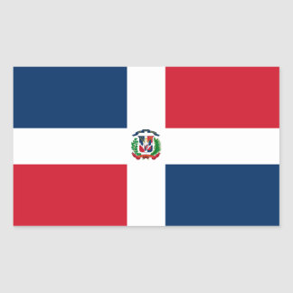 Dominican Republic Flag Sticker