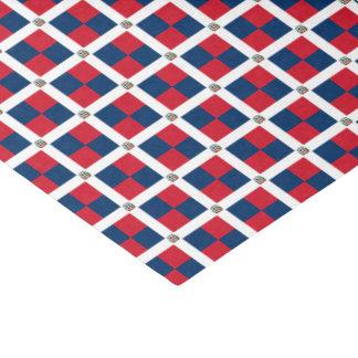 Dominican Republic Flag Tissue Paper