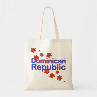 Dominican Republic Flower Bag