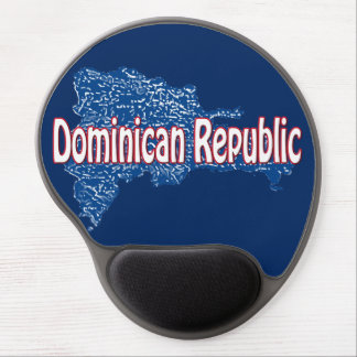 Dominican Republic Gel Mouse Pad