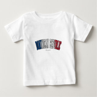 Dominican Republic in national flag colors Baby T-Shirt
