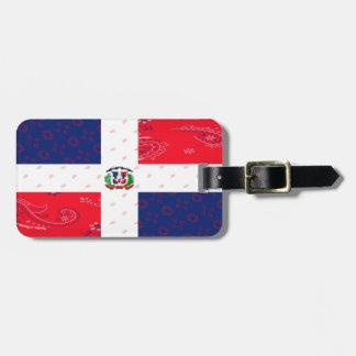 Dominican Republic Luggage Tag