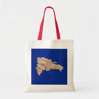 Dominican Republic Map Bag