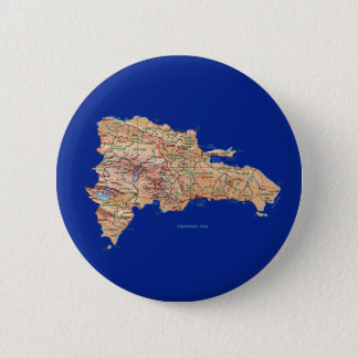 Dominican Republic Map Button