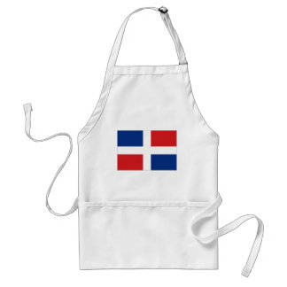 Dominican Republic National Flag Aprons