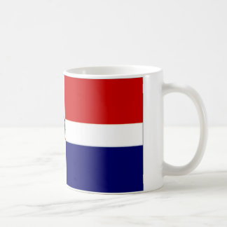 Dominican Republic Naval Ensign Coffee Mug