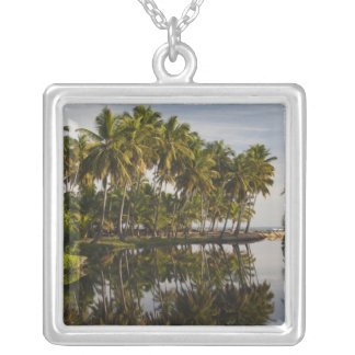 Dominican Republic, North Coast, Nagua, Playa Silver Plated Necklace