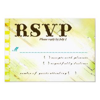 DOMINICAN REPUBLIC RSVP CARD