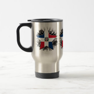 Dominican Republic Star Travel Mug