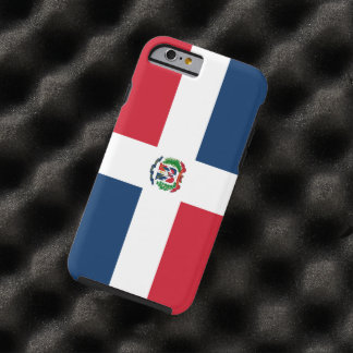 Dominican Republic Tough iPhone 6 Case