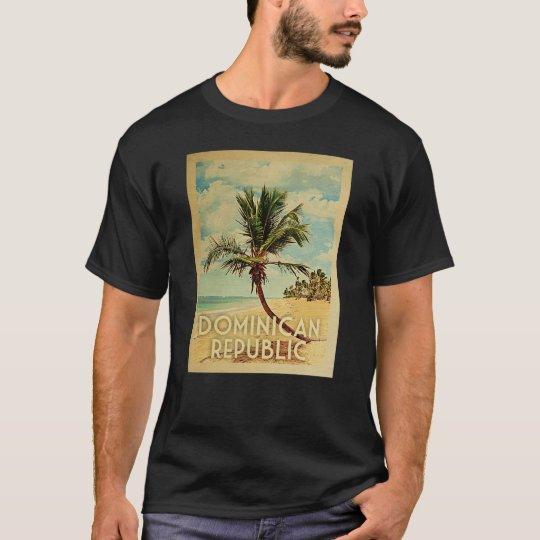 Dominican Republic Vintage Travel T-shirt Beach
