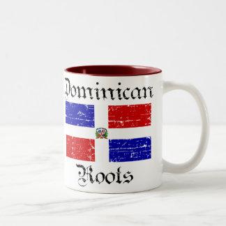 Dominican roots Two-Tone coffee mug