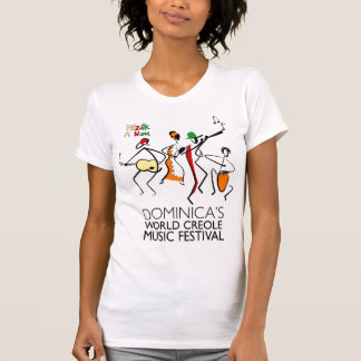 Dominica's World Creole Music Festival t-shirt
