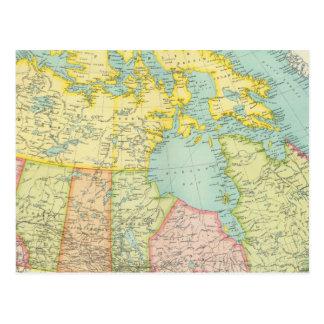 Dominion of Canada political Postcard
