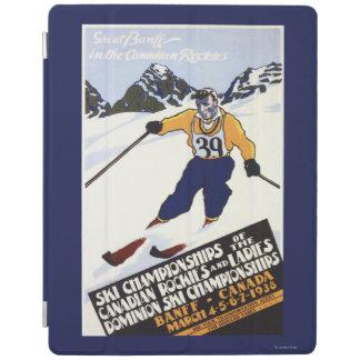 Dominion Ski Championship Poster iPad Cover
