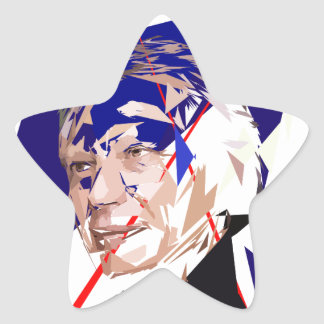 Dominique de Villepin Star Sticker