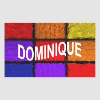 DOMINIQUE STICKER