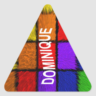 DOMINIQUE TRIANGLE STICKER