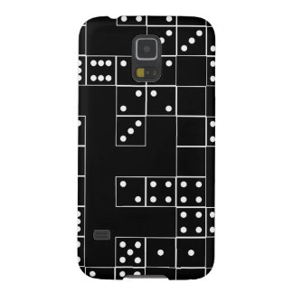 Domino BW Patterned Galaxy S5 Cover