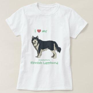 domino Finnish Lapphund shirt - lapinkoira