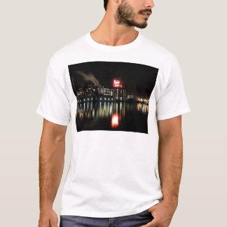 Domino Sugar Baltimore at Night T-Shirt