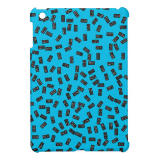 Dominoes on Blue Case For The iPad Mini