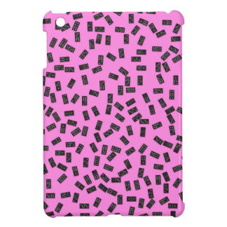Dominoes on Pink iPad Mini Cover