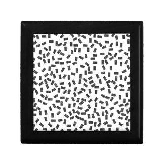 Dominoes on White Gift Box