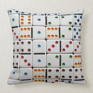 Dominoes pillow