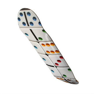 Dominoes skateboard