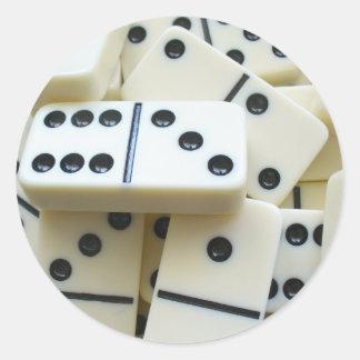 Dominoes Stickers 005
