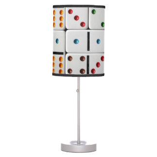 Dominoes table lamp