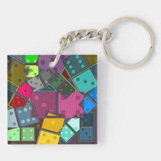 Dominos Keychain