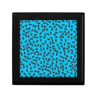 Dominos sur le bleu coffret cadeau