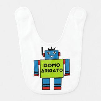 Domo Arigato Mr. Roboto Baby Bib