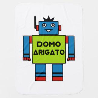 Domo Arigato Mr. Roboto Baby Blanket