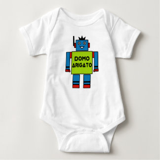 Domo Arigato Mr. Roboto Baby Bodysuit