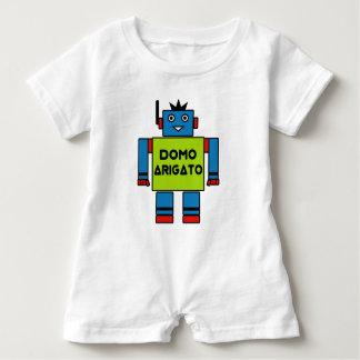 Domo Arigato Mr. Roboto Romper