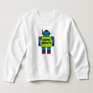 Domo Arigato Mr. Roboto Toddler Fleece Sweatshirt