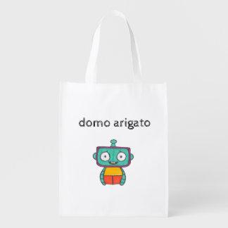 domo arigato mr. roboto tote bag