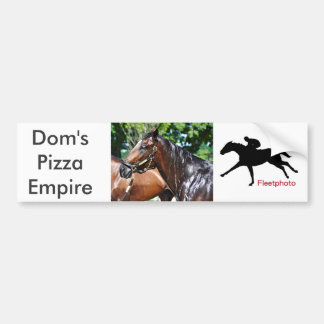 Dom's Pizza Empire Colt Bumper Sticker