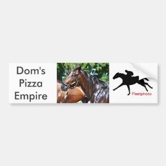 Dom's Pizza Empire Colt Bumper Sticker